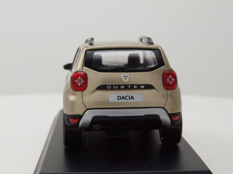 Dacia Duster 2018 dune beige metallic Modellauto 1:43 Norev