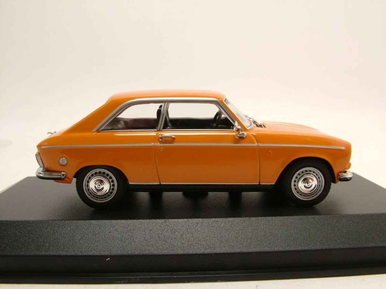 peugeot 304 coup 1972 orange mod le de voiture 1 43 minichamps ebay. Black Bedroom Furniture Sets. Home Design Ideas