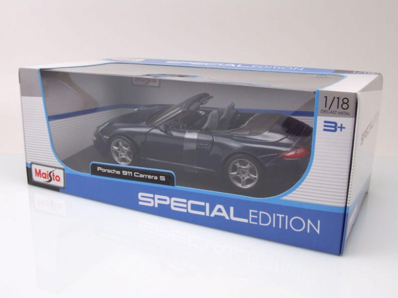 PORSCHE 911 (997) Carrera S Cabrio Azul Oscuro Metálico, Coche ...