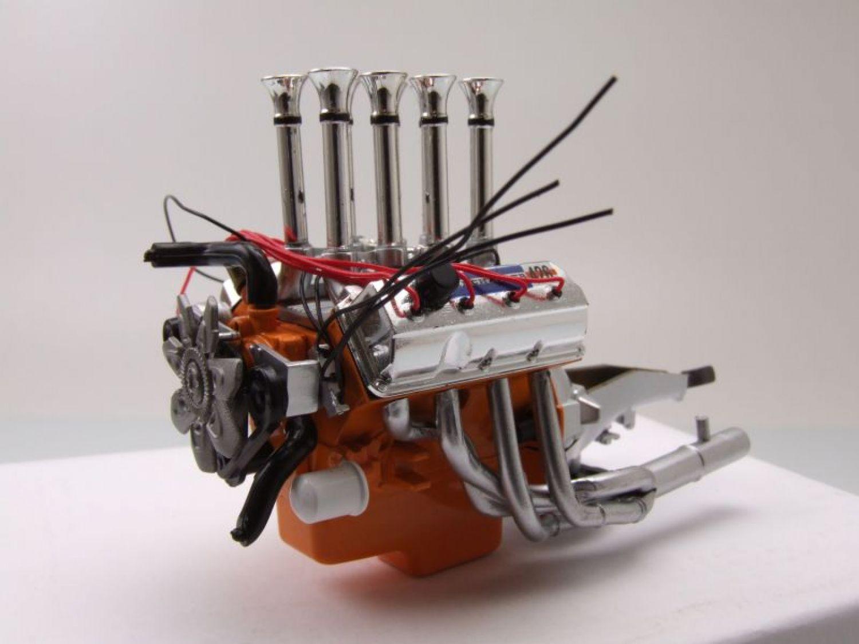 426 injected hemi engine motor motormodell 1 18 acme ebay. Black Bedroom Furniture Sets. Home Design Ideas