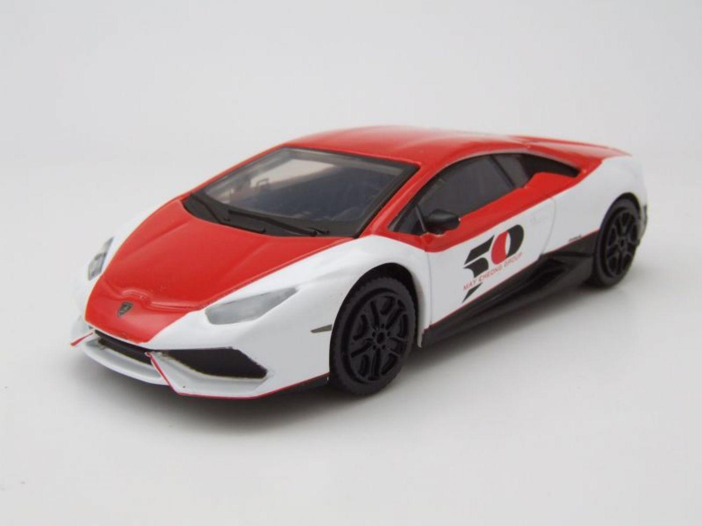 Lamborghini Huracán LP610-4 Salon Du Jouet 2017 rouge/blanc,Modèle ...
