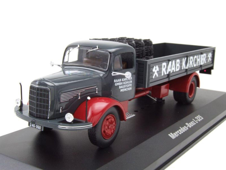 1:43 Ixo Mercedes L325 Raab Karcher grey//darkred