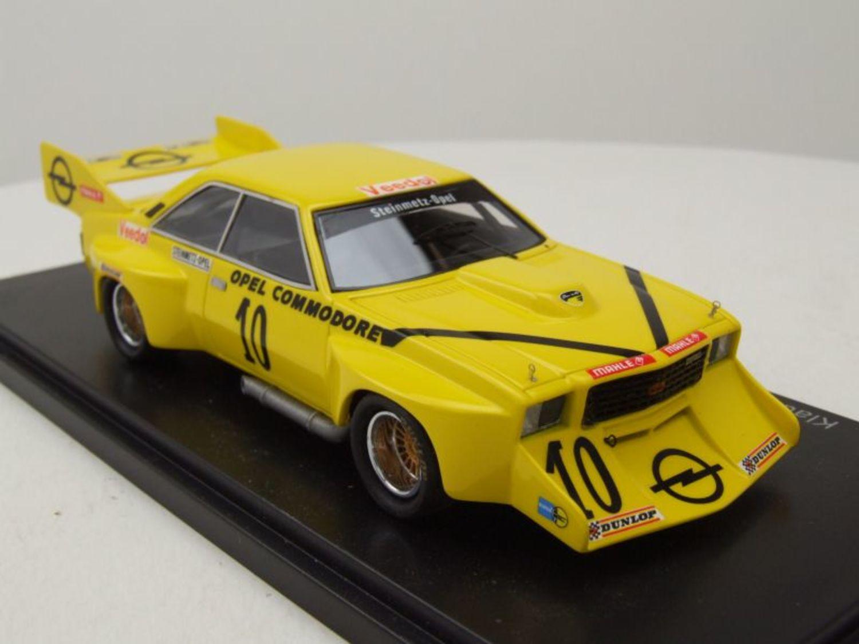 Opel Commodore B jumbo klaus steinmetz hockenheim 1973 1:43 neo 46121 nuevo embalaje original