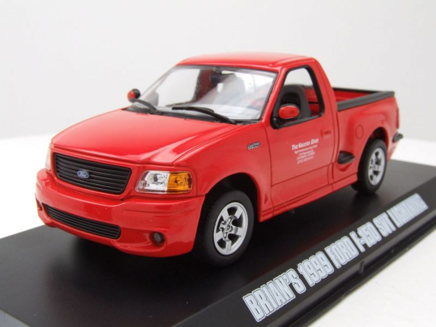 FORD F-150 PICK UP SVT FULMINE 1999 rosso,Brian Fast & Furious ...