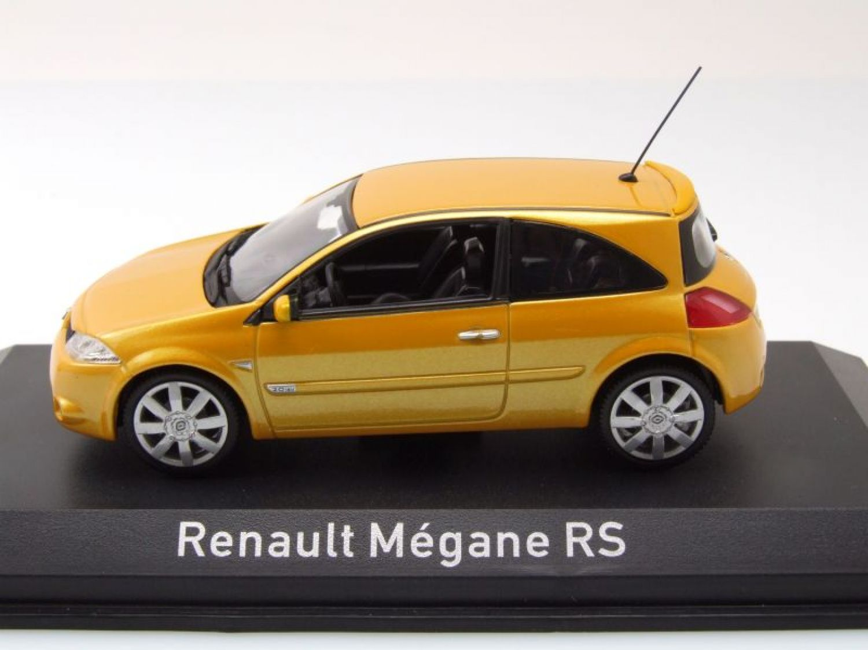 renault megane rs 2004 jaune m tallique mod le de voiture. Black Bedroom Furniture Sets. Home Design Ideas