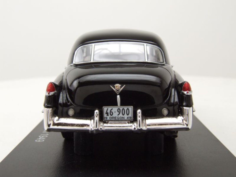 cadillac series 62 touring sedan 1949 black model car 1:43 neo scale