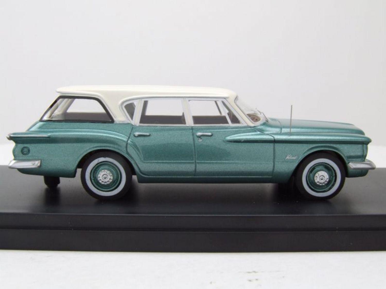 Plymouth Valiant Station Wagon 1960 metallic-grün//weiss  NEO 1:43 47115 />/>NEW/</<