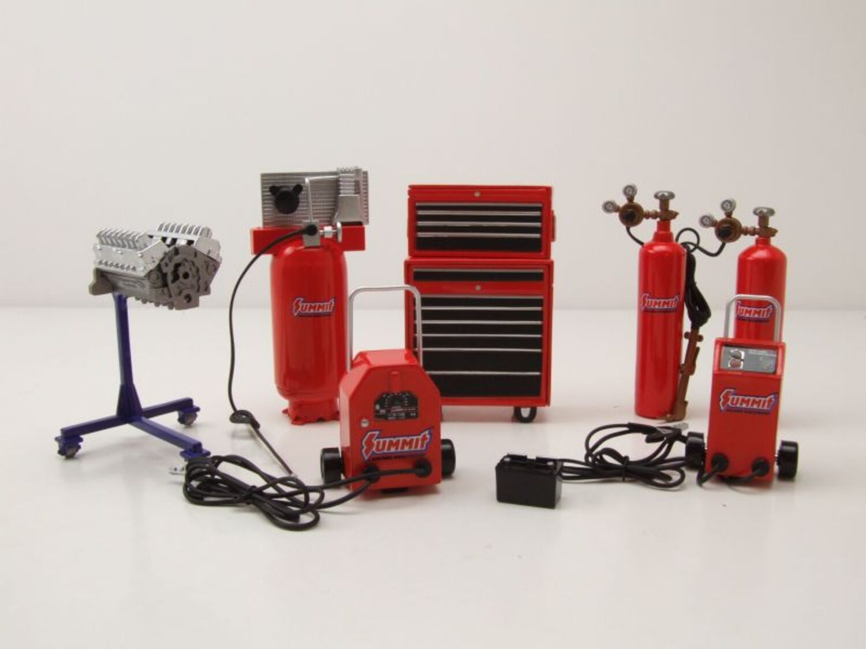 Herramienta accesorios herramienta set #2 STP para modelos 1:18 GMP