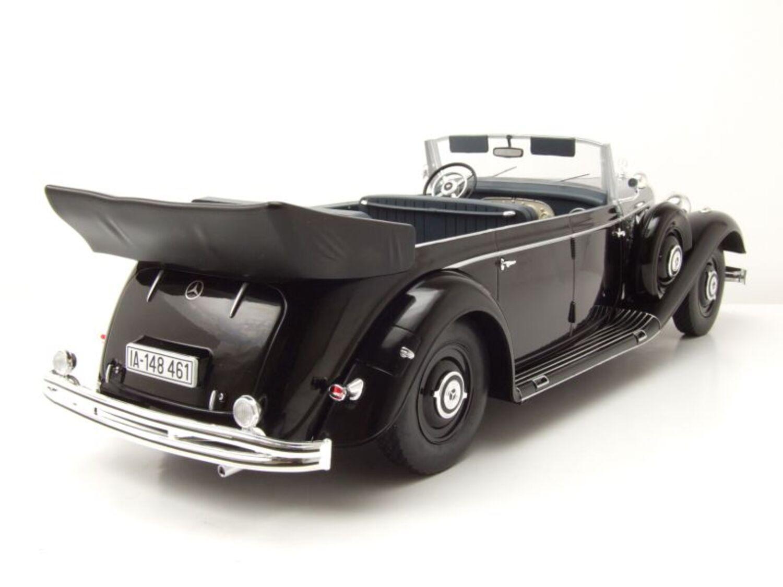 Cabriolet W150 Mercedes 770 schwarz 1938  1:18 MCG 18207  *NEW*