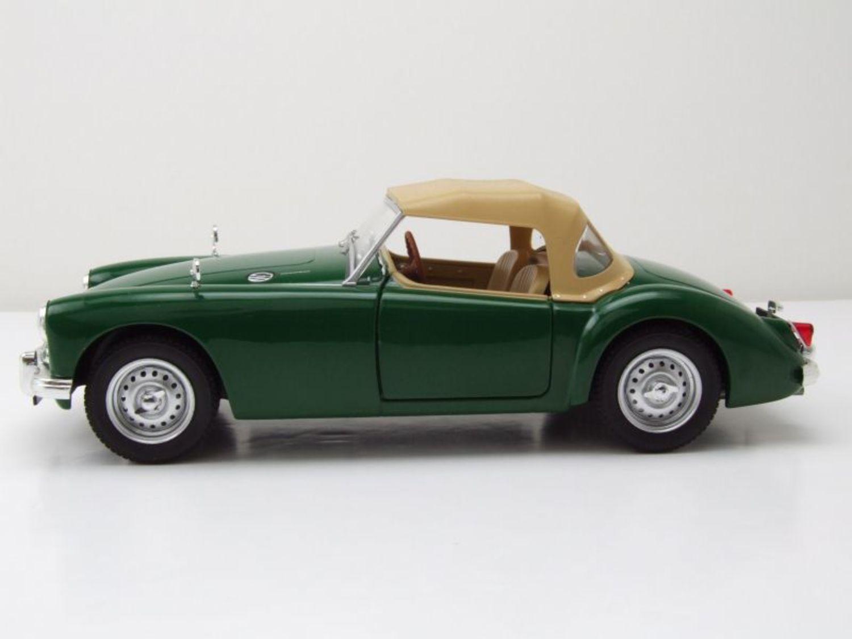 Mga Twin Cam MKI CABRIO CHIUSA RHD 1959 VERDE MODELLO DI AUTO 1:18 Triple 9