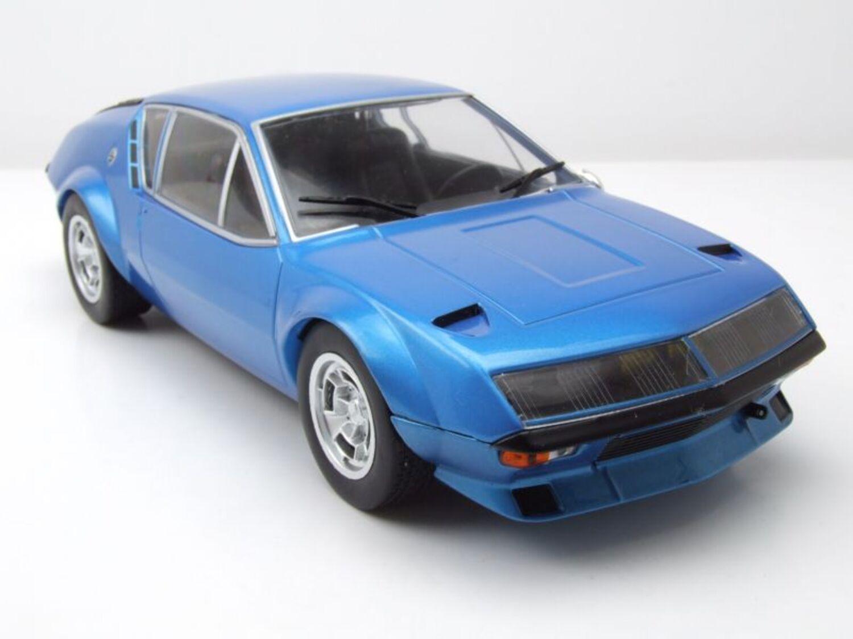 Renault alpine a 310 1974 azul metalizado coche modelo 1:18 Ixo Models