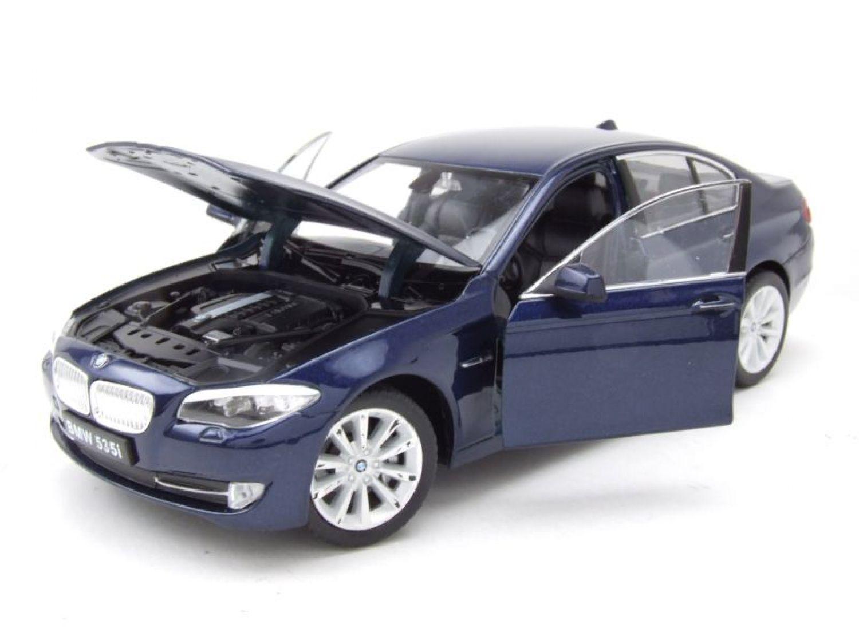 2010 Blu Profondo Blu Metallizzato Modello di auto 1:24//Welly BMW 535i f10