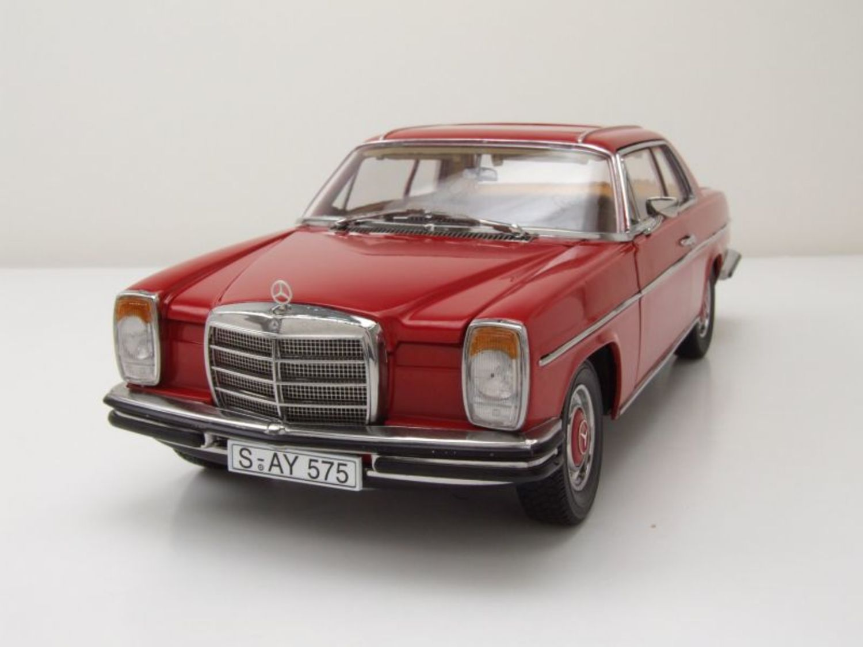 mercedes 8 280 c w115 coupe 1973 rot modellauto 1 18 sun. Black Bedroom Furniture Sets. Home Design Ideas