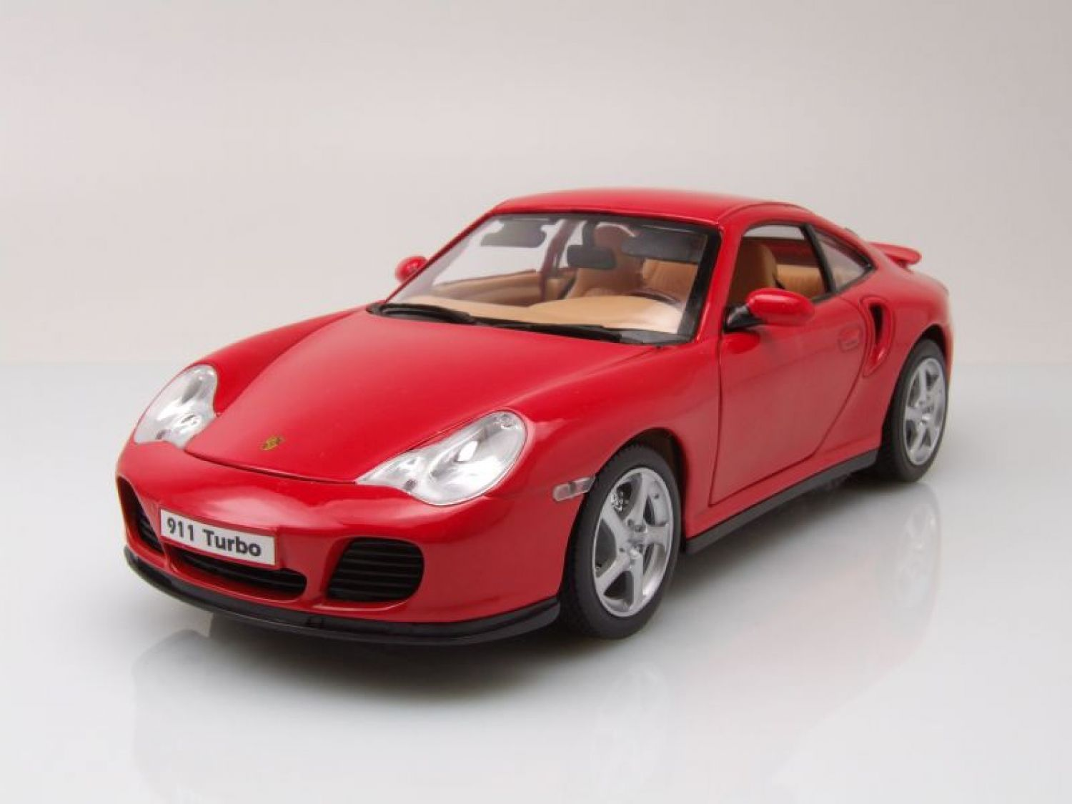 porsche 911 996 turbo rot modellauto 1 18 welly ebay. Black Bedroom Furniture Sets. Home Design Ideas