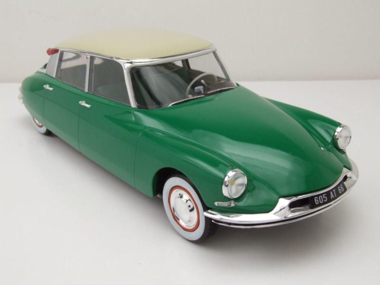 NOREV181480 Voiture CITROEN DS 19 1956 Vert Printemps /& Champagne