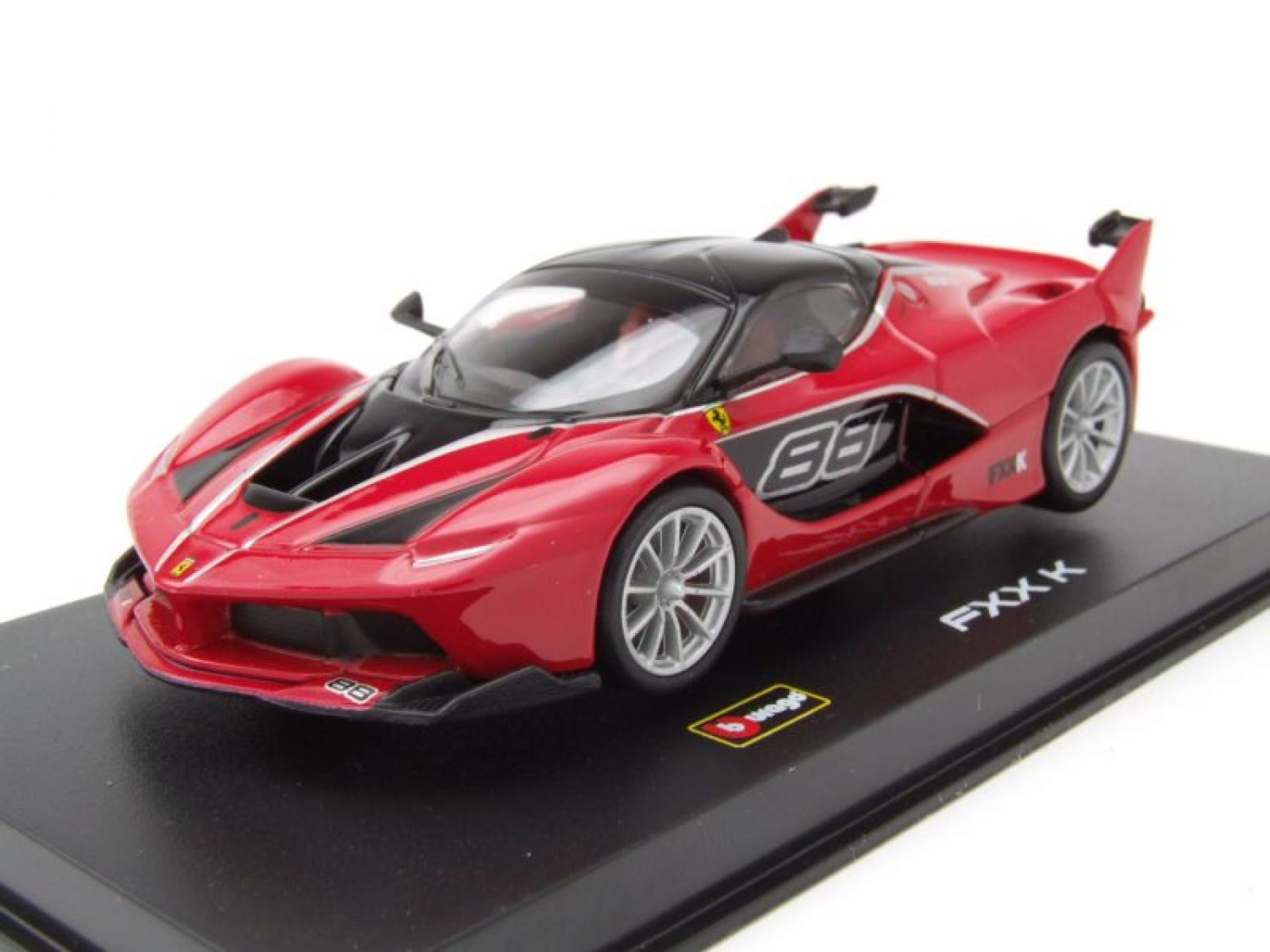 ferrari fxx k 88 2015 rot modellauto 1 43 burago ebay. Black Bedroom Furniture Sets. Home Design Ideas