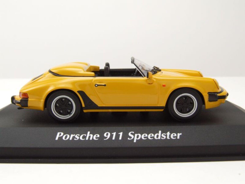 Porsche 911 Speedster 1988 rot Modellauto 1:43 Maxichamps