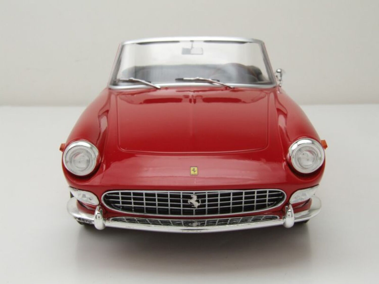 Ferrari 275 GTS Pininfarina Spyder 1964 rojo maqueta de coche 1:18 KK Scale