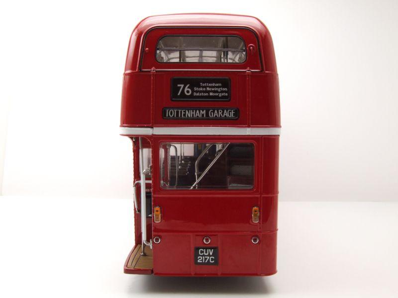 Routemaster RM Doppeldecker Bus Arriva London 1986 rot Modellauto 1:24 Sun Star