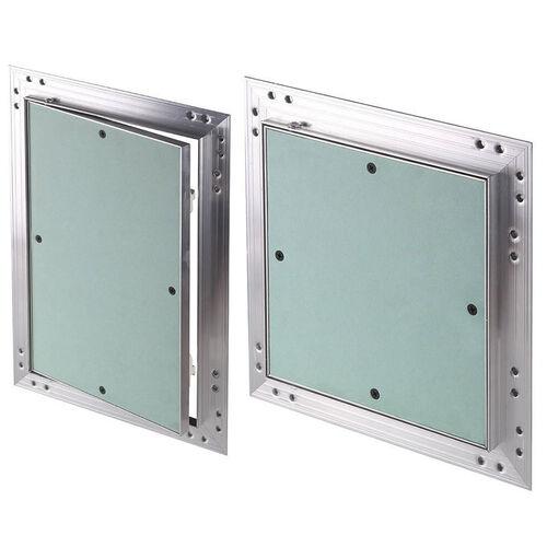 Revisionsklappe Aluminium-Rahmen 12,5 mm GK-Einlage Gipskarton Revisionst/ür Alu 200 x 300