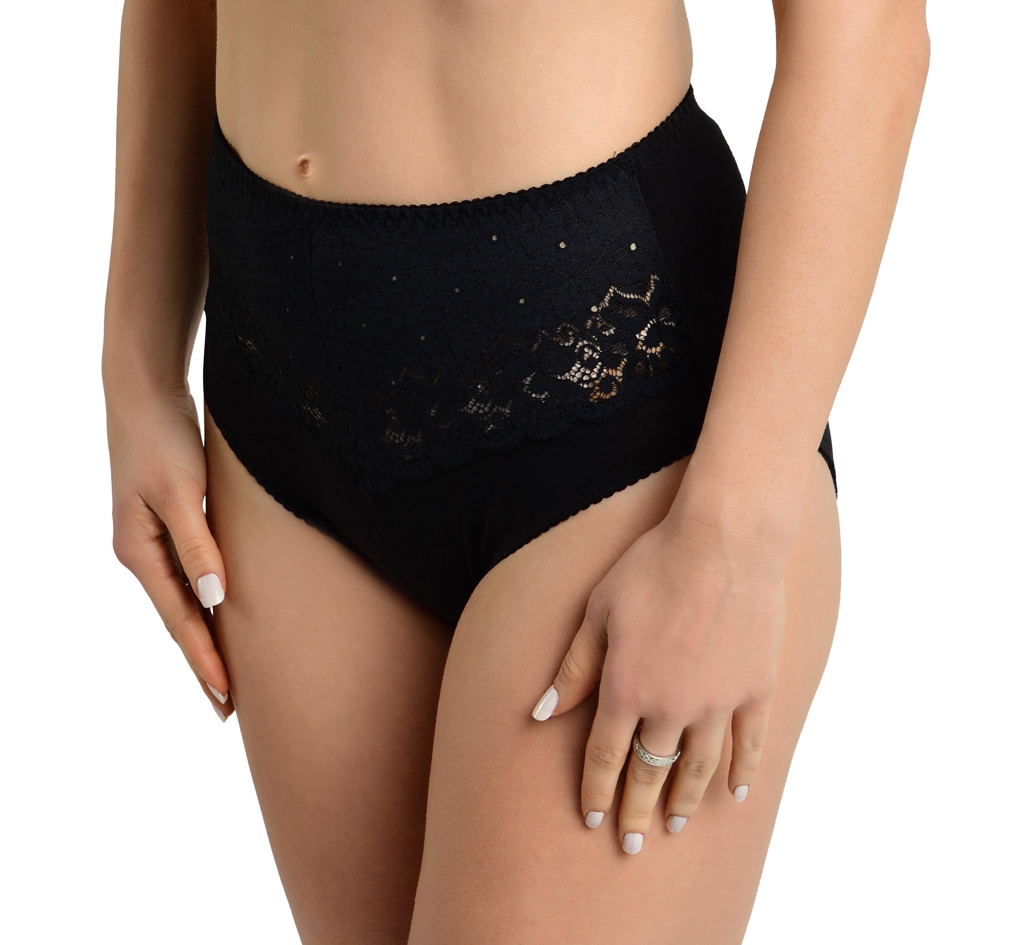 Verally Taillenslip mit breiter weicher Spitze | Unterwäsche Damen | Gr. 38-50 |