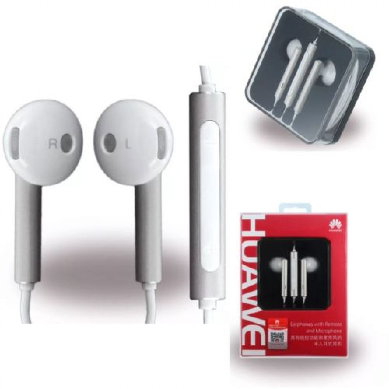 Original Huawei Am116 Stereo Headset Ascend G6 G8 Mate S Y360 Y5