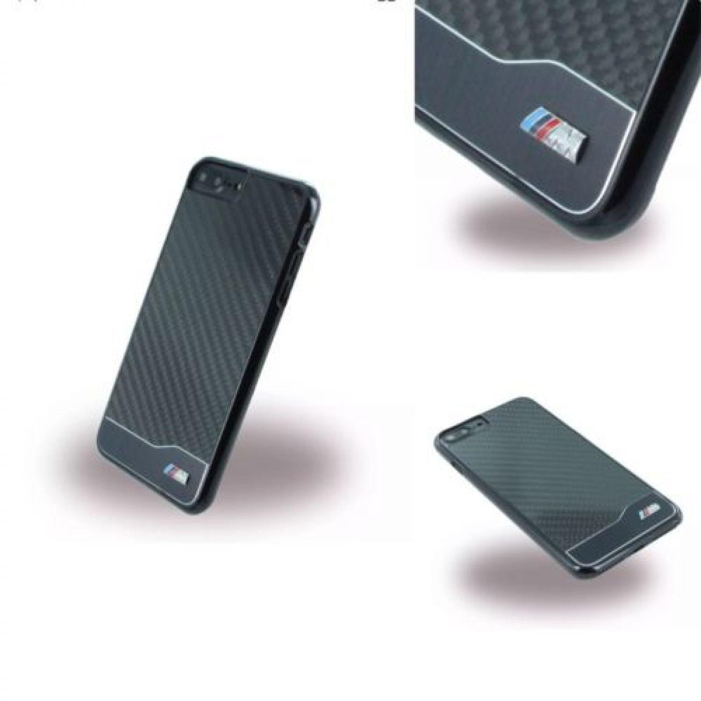 bmw m sport carbon fiber hard cover case handyh lle tasche. Black Bedroom Furniture Sets. Home Design Ideas