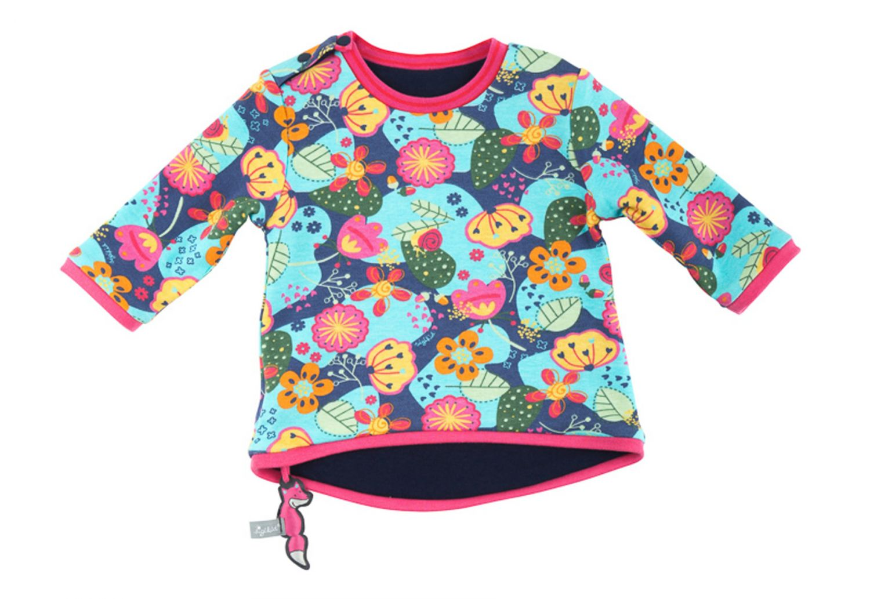 ce42b6153e29bb Sigikid Mädchen Baby - Wendeshirt   Sweatshirt aus der Serie Fox Fuchs Blau  ( Peacoat)