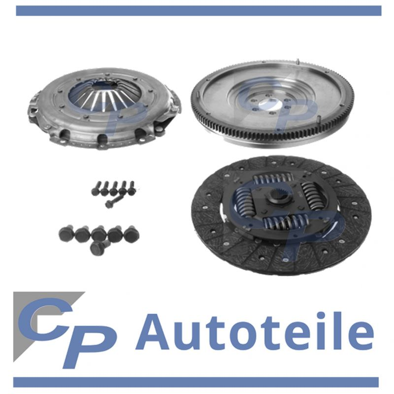 clutch set with zms umruestkit audi a3 altea león golf v octavia 2.0