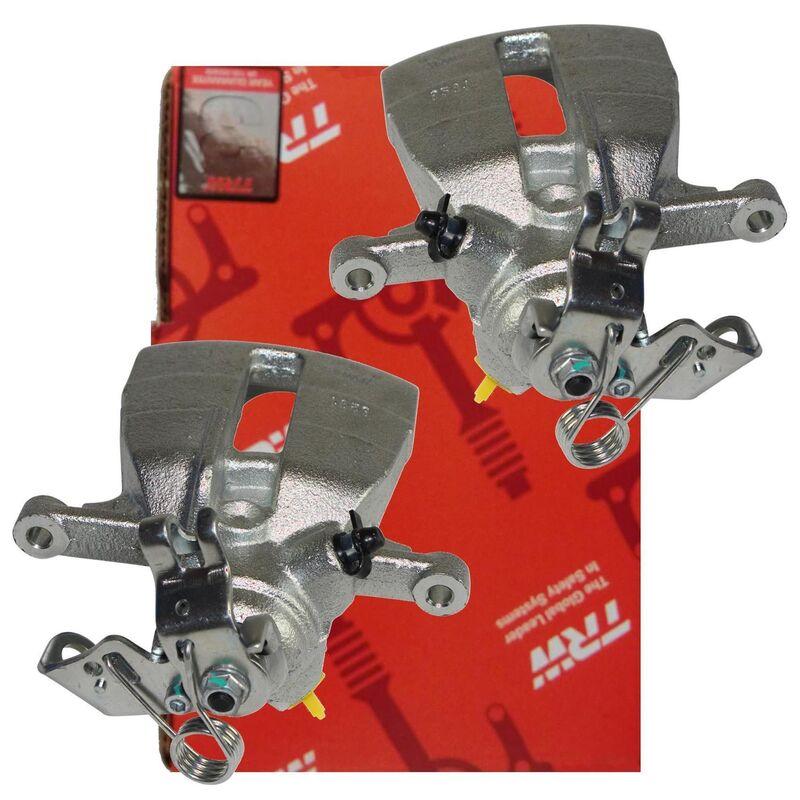 2x TRW Bremssattel Bremsbelag Satz hinten VW T5 T6 BHS330 BHS331 GDB1557