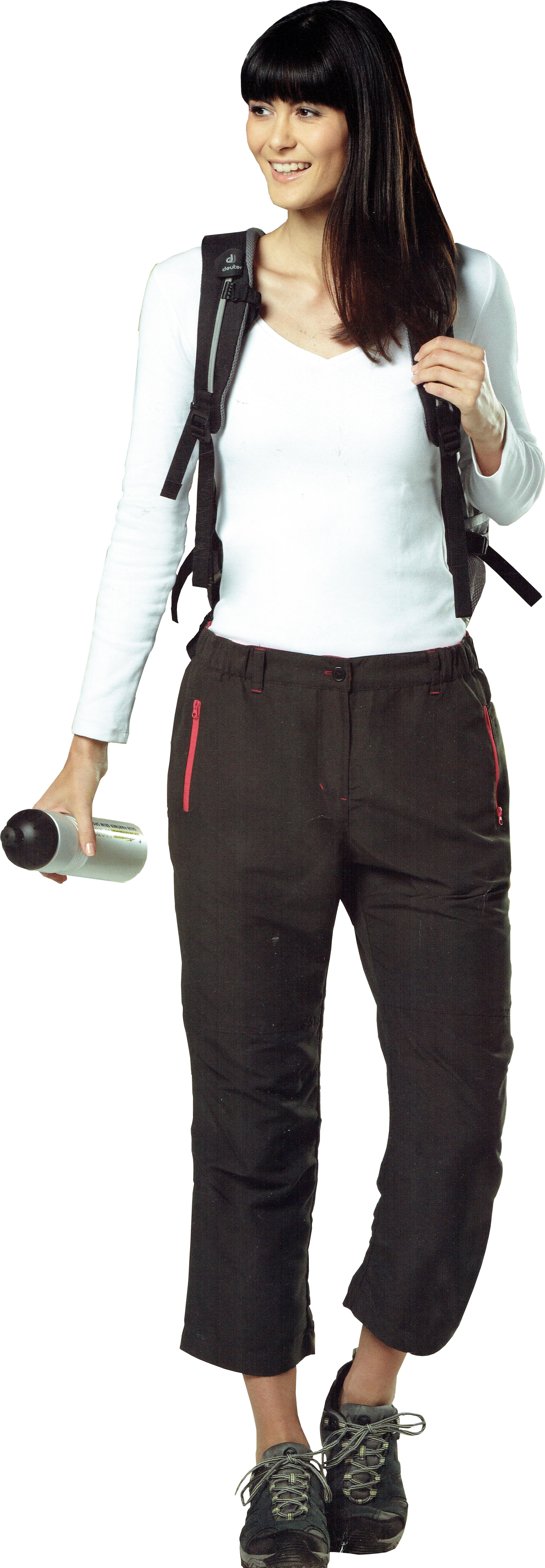 Wanderhose-Outdoorhose-Trekkinghose-Tourenbekleidung-Abzipphose-Zipp-Off-2-in-1 Indexbild 3