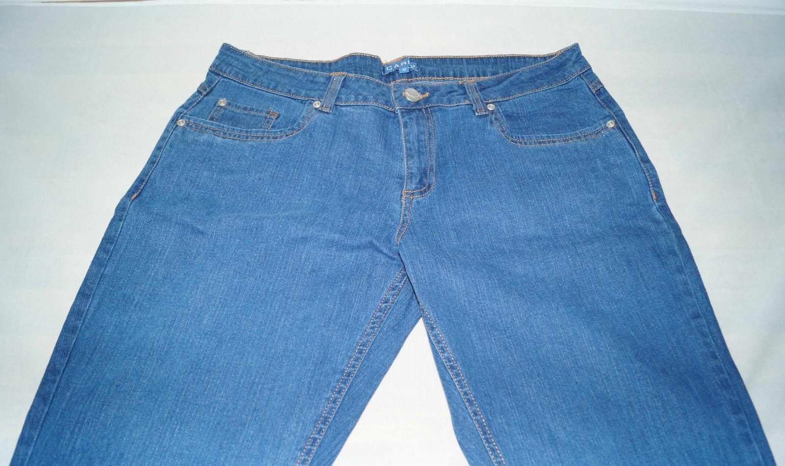 Damen-Stretch-Jeans-9-versch-Modelle-Jeanshose-Hose-Elasthan-bequem-Oko-Tex Indexbild 15