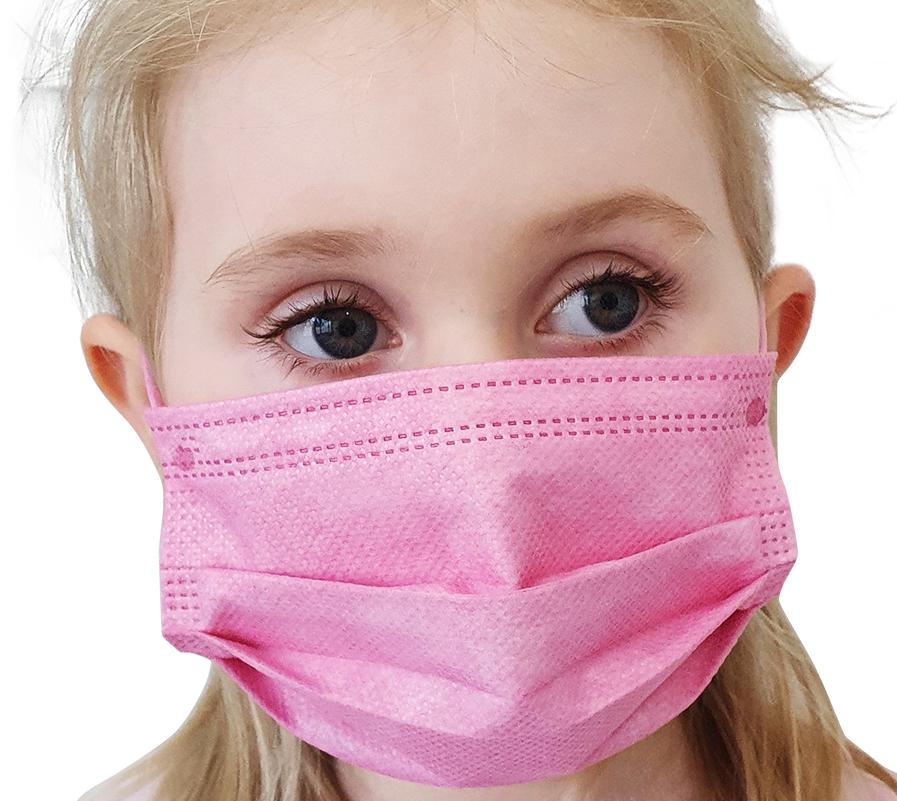 Indexbild 24 - 50 Kindermasken medizinisch oder Mund-Nasen-Bedeckung Mundschutz Einweg 3 Lagig