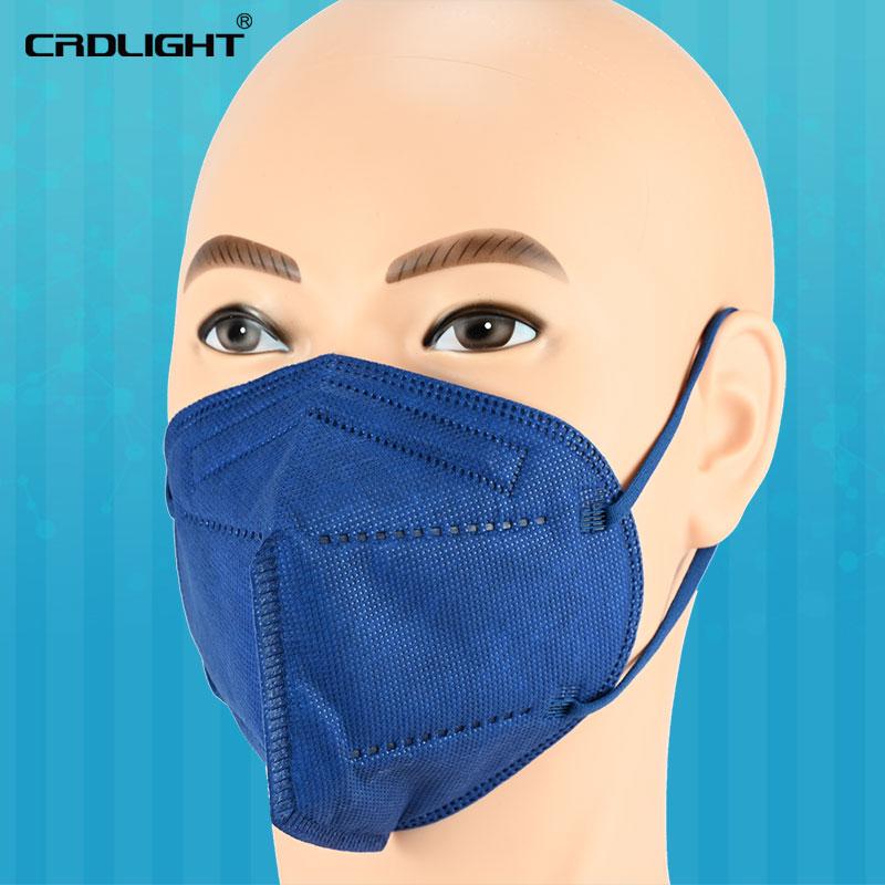 Indexbild 13 - 1 - 1000 FFP2 Atemschutzmasken farbiger Mundschutz 5-lagig CE2163 CRDLIGHT