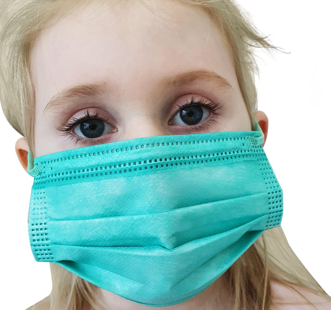 Indexbild 8 - 50 Kindermasken medizinisch oder Mund-Nasen-Bedeckung Mundschutz Einweg 3 Lagig