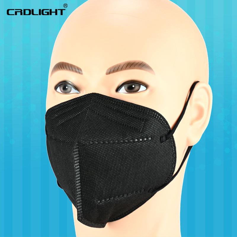 Indexbild 30 - 1 - 1000 FFP2 Atemschutzmasken farbiger Mundschutz 5-lagig CE2163 CRDLIGHT