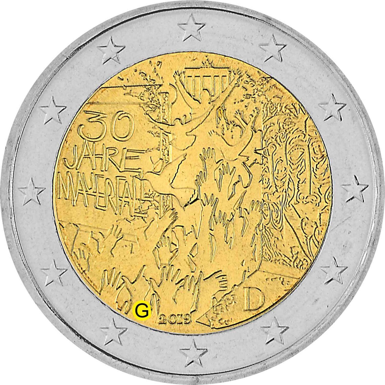 2 Euro Münze 2021 Rheinland-Pfalz