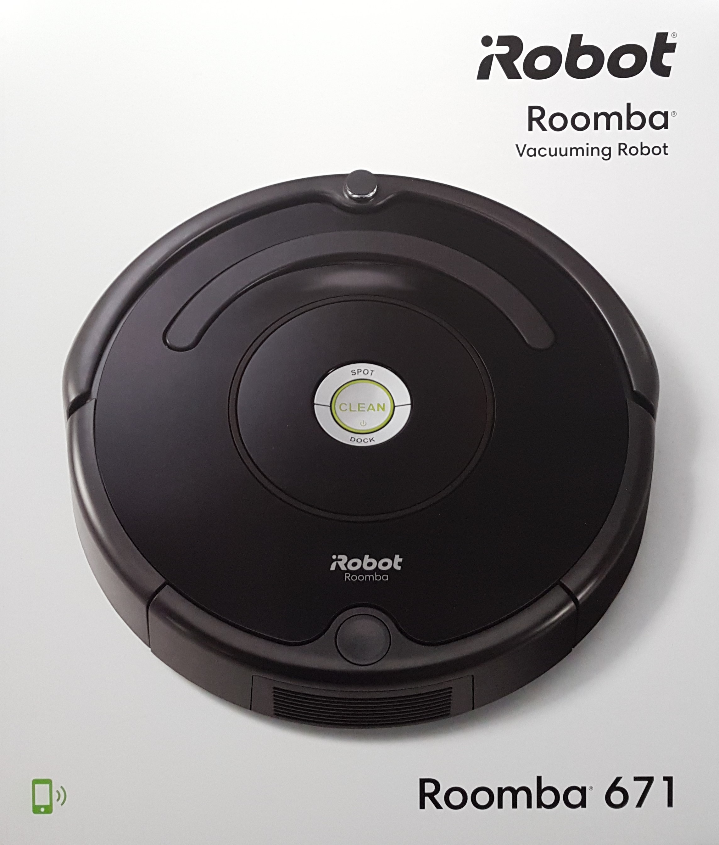 iRobot Roomba 671 Saugroboter geeignet für Hartböden+Teppiche+Tierhaaren NEU/&OVP