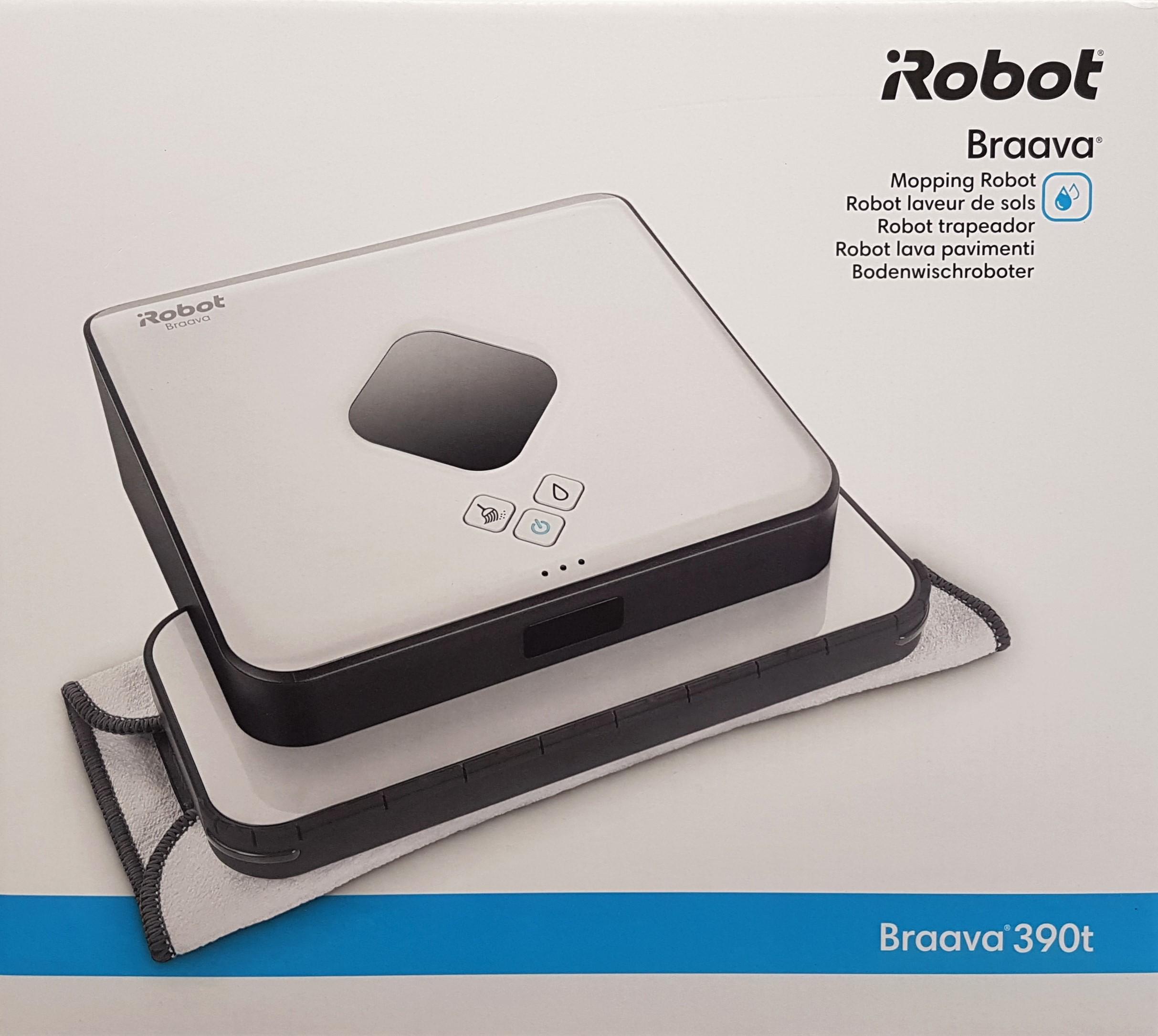 weiß *NEU+OVP* iRobot Braava jet 240 Wischroboter, Reinigt Räume bis zu 25 m²