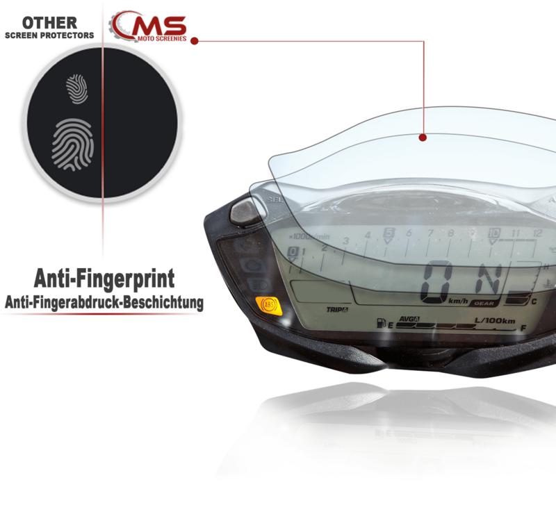 3 x Entspiegelt SV650 2016 Displayschutzfolie Tachoschutzfolie