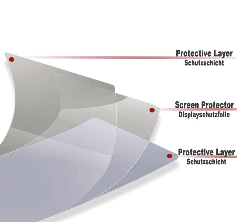 2x KTM Duke 125 390 2017 Tacho Displayschutzfolie Screen Protector Original