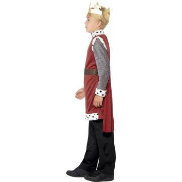 Ritter Mittelalter Kostüm L 10-12 Jahre 140-158 cm Prinz Königssohn Verkleidung
