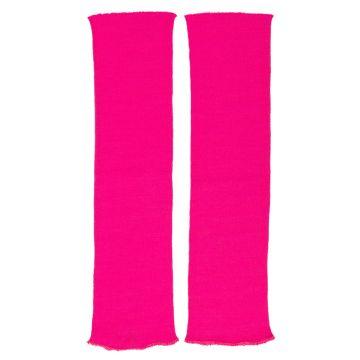 Beinstulpen neonpink leuchtende 80er Stulpen Beinwärmer pink Aerobic Disko neon