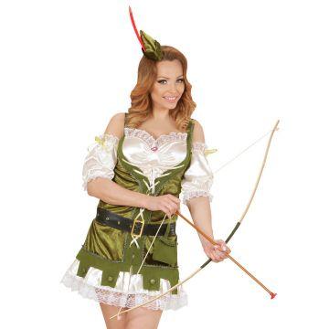 Pfeil und Bogen Kostümzubehör Robin Hood Köcher Indianer Bogenschütze Kostüm Set