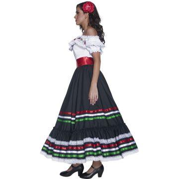 Kostüm Senorita S 36-38 Spanierin Verkleidung Flamenco Kleid Zigeunerin Western