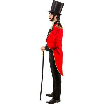 Eleganter Herren Frack Dompteur Showman Zirkus Direktor Kostüm Outfit XXL 60-62 Kostüme