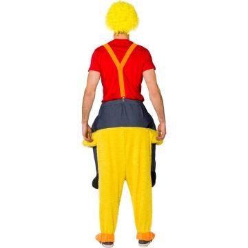 Huckepack Kostüm Huhn Schlepp Mich Outfit 1 80-1 95m Rucksack-Kostüm Henne