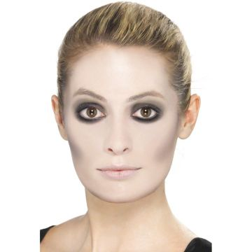 Schwarz Weiss Make Up Set Halloween Schminke Geisterschminke Ghost