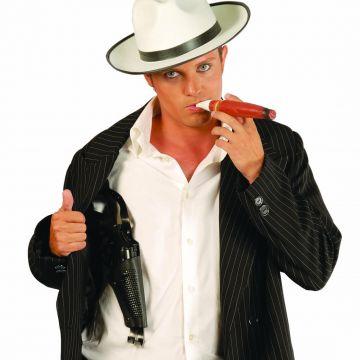 Gangster Pistole Mafia Revolver 18 cm lang 0er Jahre Waffe Al Capone Colt