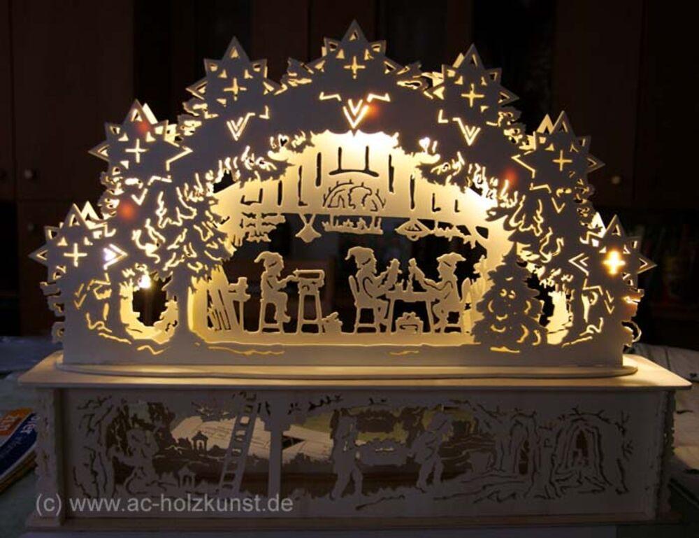 Vorlage Xxl Schwibbogen Bergmann Mit Wappen 13